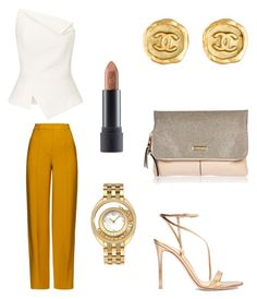 """""""Untitled #86"""" by styledbytine on Polyvore featuring Roland Mouret, ADAM, Bite, Versace, Gianvito Rossi, River Island and Chanel"""