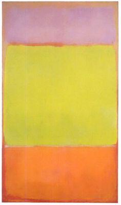 Mark Rothko, No. 7, 1951 #markrothko #bymariestore #art #artconcept #painting