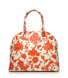 Tory Burch:Printed Robinson Dome Satchel...yes indeed!