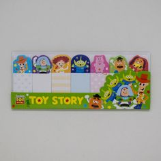 Disney Toy Story Painter Series green sticky note set (Imported from Japan)
