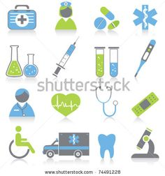 stock vector : Medical Icons