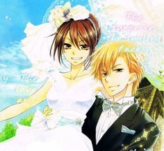 Cover of the last chapter of the manga series. They got married, so kawaii!! ❤️❤️