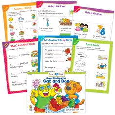 Good Choices For Cat And Dog Ebook & Worksheets – Creative Teaching Press Improve Reading Comprehension, Reading Strategies, Sight Word Sentences, Vocabulary Words, Learn To Read Books, Nouns And Pronouns, Creative Teaching Press, Spelling Patterns, Math Work