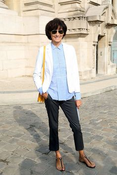 Fashion Icon Ines de la Fressange on Her Uniqlo Collaboration and How to Be French-Chic #newyearstylechallenge