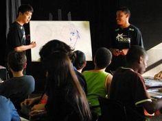 """As inscrições para as Oficinas de Histórias em Quadrinhos com o desenhista Eder Messias, estão abertas no CCMix (Centro Cultural Mix) de São Vicente, no mês de abril, até completarem as turmas. Os alunos aprenderão além de noções básicas de desenho como rosto e corpo humano, cenários nas linguagens do mangá, comics e cartum. Para...<br /><a class=""""more-link"""" href=""""https://catracalivre.com.br/geral/agenda/barato/oficinas-de-historias-em-quadrinhos-em-sao-vicente/"""">Continue lendo »</a>"""