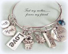 Gift for Mother Gift for Mom Daughter to by HopeisHipJewelry