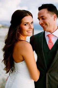 gorgeous bridal look -- see more on @destweds
