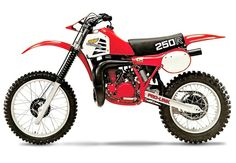 Dad said he loved his '80 & his '82 was his favorite bike ever... But he hated his '81 with a passion!! Still gotta give Honda props for stepping way outside the box on this bike!! It's definitely easy to spot one...  1981 Honda CR 250 R