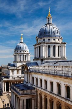 Old Royal Naval College, Greenwich, London British Architecture, Baroque Architecture, Vernacular Architecture, Lego Architecture, Historical Architecture, Beautiful Architecture, University Of Greenwich, Greenwich London, Best University