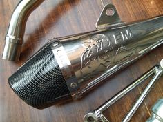 FM Exhaust system for 125 / 150 Honda Ruckus Parts, Exhausted