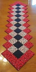 Patriotic Quilted Table Runner (Pictures show largest ...