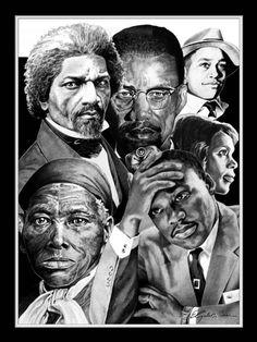 Elizabeth Poster featuring the drawing Civil Rights Collage by Elizabeth Scism Black History Facts, Black History Month, Black Month, Martin Luther, Art Black Love, African American Artwork, Black Leaders, Black Art Pictures, Black Artwork