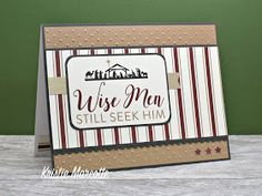 The best things in life are Pink.: Echo Park's Wise Men Still Seek Him - 33 cards from one paper pad Personalised Christmas Cards, Christmas Card Template, Christmas Cards To Make, Christmas Paper, Xmas Cards, Holiday Cards, One Sheet Wonder, Paper Smooches, Wise Men