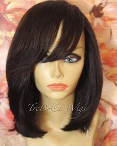 TreBella custom closure bob unit. This unit is not for sale but you can have one made. Get more info by visiting www.trebellawigs.com. #wig #wigs #wigmaker #wigmaster #trebella #trebellawigs #customunit #extensions #hairstylist #protectivestyles  #hair #haircut #hairstyle #hairstylist #hairdo #hairfashion