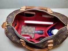 991dbf331b71 Original Club Organizer when fitted inside a Louis Vuitton Speedy 30 Louis  Vuitton Speedy 30