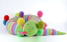 knit Parker party snake | the knitting space