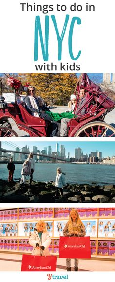 15 Exciting Things to Do in NYC with Kids (or without) Things to do in NYC with kids - Planning a family trip to New York City? Check out these 15 activities you and your kids will love! New York Vacation, New York City Travel, Family Vacation Destinations, Travel Destinations, Vacation Packages, Family Vacations, Paris Travel, Dream Vacations, Vacation Ideas