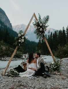 A Unique + Progressive Elopement Ceremony in the Canadian Rockies – Hochzeit – Wedding Boho Wedding, Dream Wedding, Wedding Shoes, Paris Wedding, Wedding Flowers, Elopement Inspiration, Elopement Ideas, Elopement Wedding, Beach Elopement
