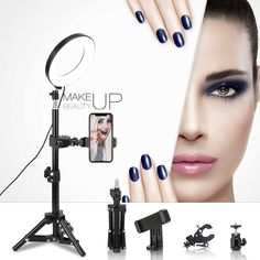 Led Ring Light, Facial Cleansing Brush, Amazing Makeup, Amazon Deals, Best Makeup Products, Makeup Looks, Your Style, Type, Beauty