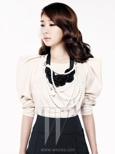 Yoo In Na W Korea Magazine March 2011