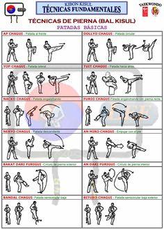 taekwondo patadas - Buscar con Google