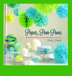 The Papercraft Post: Paper Pom-Poms, by Paula Pascual. Review.http://thepapercraftpost.blogspot.co.uk/2016/08/paper-pom-poms-by-paula-pascual-review.html