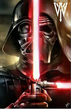 Wizyakuza - Darth Vader and Kylo Ren crossover