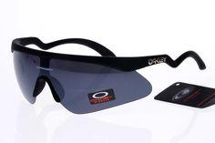 Oakley Flak Jacket Sunglasses Black Frame Black Lens 0329