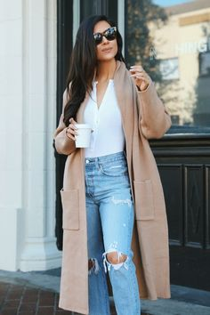 Chloe Knit Cardigan Love Street Apparel | Outfits | Autumn