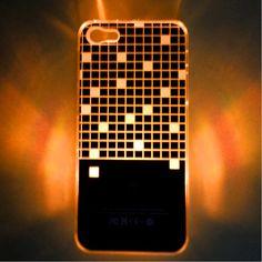 Minigaga LED Sense Flash Lighting Case Cover Skin for iPhone 5 Colors Changing