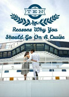 Here are the top 10 reasons why you should go on a cruise. After reading this article, you will surely be excited to get on a cruise. Cruise Tips, Cruise Travel, Cruise Vacation, Travel List, Travel Advice, Travel Guides, Travel Articles, Travel Info, Travel Hacks