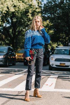 New York Fashion Week SS2018 | Collage Vintage