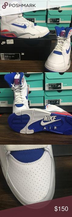 sports shoes a609e 8611c Nike Air Command Force 684715 101 Nike Air Command Force   10.5 Men s US    Brand New, No Tags Nike Shoes Sneakers