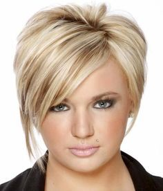 sophisticated hairstyles for women over 40 | Blonde Short Straight Hairstyles for Women