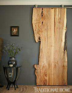 DIY Interior DIY Tür, Innenarchitektur Landscaping Ideas For the person who wants to give their gard Style At Home, Style Blog, Diy Casa, The Doors, Entry Doors, Patio Doors, Front Entry, Garage Doors, Live Edge Wood