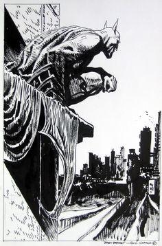 Jordi Bernet done drewt the Batman