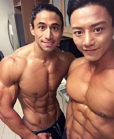 Feature @justingonzalesfitness & @jaesung_ahn_wbffpro #ASIAHUNKS #muscleman #hunks #muscle #bodybuilder #binaraga #Ripped #sixpack #abs #washboardabs #muscular #otot #macho #fitness #flex #swole #bodybuilding #hotmen #indofitness #indomen #cowok...