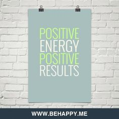 Positive energy  positive results #195503