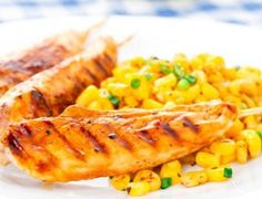 Mouth Watering Delicious Recipe Of Chicken And Corn Skewers At Home