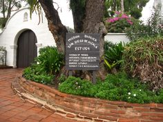 the first mission in California - Mission San Diego de Alcala
