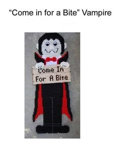 COME IN FOR A BITE VAMPIRE 1