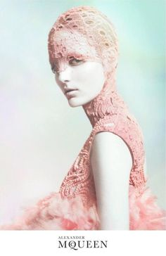 Alexander McQueen. Pastels