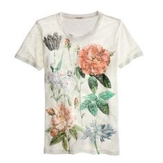 Linen rose tee A Very Secret Pinterest Sale: 25% off any order at jcrew.com for 48 hours with code SECRET.