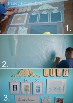 Picture Hanging tips - great idea