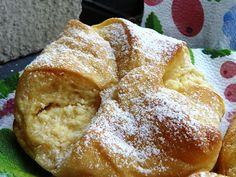 Túrós táska Bread, Food, Brot, Essen, Baking, Meals, Breads, Buns, Yemek