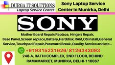 Sony Laptop Service Center in Munirka, Delhi will have good quality of technician who have a good experience in laptop repairing. We will solve Your issue fast. Sony Vaio Laptop, Laptop Repair, Data Recovery, Hyderabad, Notebooks, Laptops, Software, Notebook, Laptop