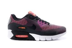 New Nike Air Max 90 Black Wine Red Shoes, AUD $130.21 | www.hotsneakers.net