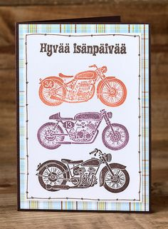 Moottoripyörä on moottoripyörä   FinnStamper