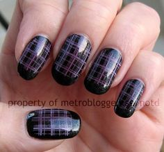 Pretty purple plaid