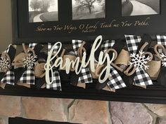 Primitive buffalo plaid mitten garland, buffalo plaid garland, Christmas and winter decoration Diy Christmas Garland, Fall Garland, Diy Garland, Plaid Christmas, Christmas Decorations, Christmas Displays, Fabric Garland, Xmas, Garlands